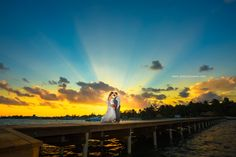 Sunset Wedding - Belize Photographer - Belize Elopement Packages | Jose Luis Zapata Photography