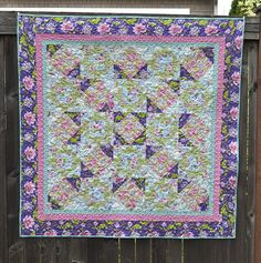 spring promise quilt by vickivictoria, via Flickr