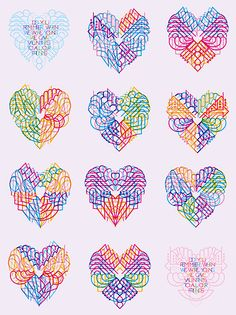 marian bantjes: valentines 2011              Anyone who knows about the spectacular typographer/calligrapher/pattern maker marian bantjes knows that every year she creates intricate valentines for a select number of frinds. Each year they keep  getting better!