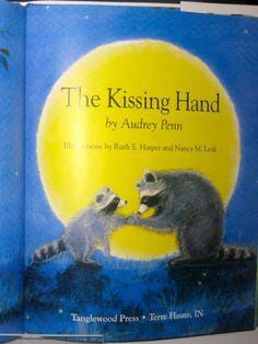 For kids just starting school (kindergarten or preschool), I adore the book The Kissing Hand by Audrey Penn. It's about a little raccoon who is nervous about starting sch Local Activities, Activities For Kids, Preschool Ideas, First Day Of School, Back To School, The Kissing Hand, Kids News, Starting School, Play To Learn