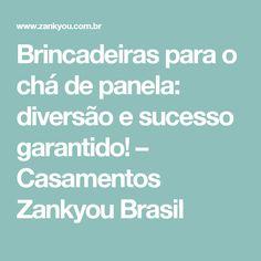 Brincadeiras para o chá de panela: diversão e sucesso garantido! – Casamentos Zankyou Brasil