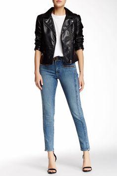 Kendra Stretch Ankle Skinny Jean (Petite)