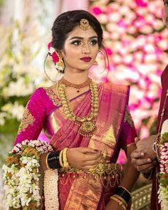 South Indian bride look