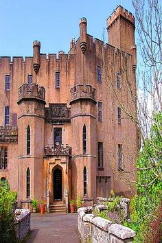 Dunvegan Castle, Scotland..Home to Clan McLeod