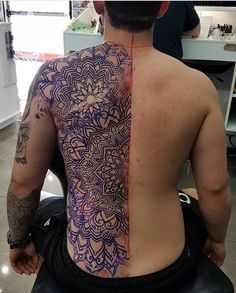 Spine Tattoos, Body Tattoos, Sleeve Tattoos, Full Back Tattoos, Full Body Tattoo, Mandala Chest Tattoo, Ganesh Tattoo, Sak Yant Tattoo, Polynesian Tattoo Designs