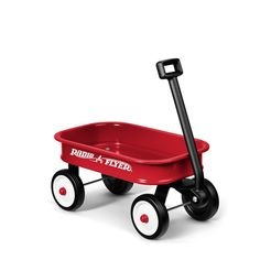 Radio Flyer is celebrating its Anniversary with this limited edition wagon! This Little Red Toy Wagon is a small version of the original wagon you loved as a kid Kids Wagon, Toy Wagon, Radios, Radio Flyer Wagons, Little Red Wagon, Numbers For Kids, Kids Ride On, Ride On Toys, Classic Toys