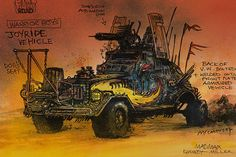 The Comic Book Origins of 'Mad Max: Fury Road' by Brendan McCarthy 'Mad Max: Fury Road': Check Out the Movie's Kickass Post-Apocalyptic Concept Art - The Daily Beast