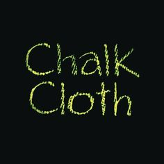 Try chalk oilcloth to create fun drawable place mats and other kids crafts.