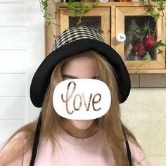블랙체크 보넷 : 네이버 블로그 Boho, Sewing, Hats, Fashion, Moda, Dressmaking, Couture, Hat, Fashion Styles