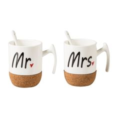 MR MRS 2'Lİ KUPA SETİ - Mudo Concept MUTFAK - ÇAY KAHVE GRUBU - KUPA -1157770-000 | Mudo Online Alışveriş