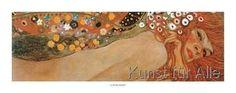 Gustav Klimt - Acqua Mossa