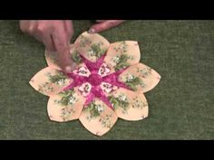 Part 1 of our Dresden Plate Workshop. Making Persian Tops for your Dresden Plate. Dresden Plate traditional and with a difference. Samples are from our DVD Dresden Plate Workshop. A great way to use Jelly Roll strips with the Adjustable Dresden Plate from Quilting Tips, Quilting Tutorials, Quilting Projects, Quilting Designs, Quilting Room, Dresden Plate Patterns, Quilt Block Patterns, Quilt Blocks, Dresden Quilt