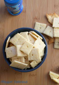 White Cheddar Crackers (Cheez-it Copycat Recipe) - Flippin' Delicious