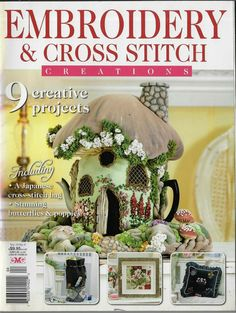 Cross Stitch Embroidery, Magazine, Tea, Creative, Crafts, Scrappy Quilts, Manualidades, Magazines, Handmade Crafts