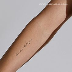 This Too Shall Pass Temporary Tattoo (Set of – Small Tattoos Mini Tattoos, Wörter Tattoos, Temporary Tattoos, Small Tattoos, Small Saying Tattoos, Tatoos, Friend Tattoos, Cursive Tattoos, Tattoo Script