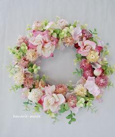 ハンドメイドマーケット minne(ミンネ)| angel smile:rose wreath