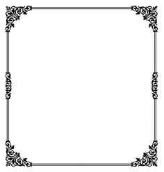 Printable fancy border use the border in microsoft word or other scroll border vector on vectorstock stopboris Gallery