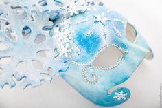 """Купить Венецианская карнавальная маска """" Зима"""" - маска, венецианская маска, карнавал, карнавальная маска"""