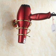 Practical Hair Dryer Holder Cupboard Cabinet Over Door Hook Hanger