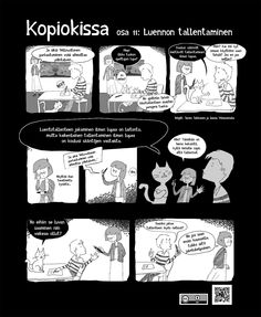 Kopiokissa osa 11. Luennon tallentaminen. Tieto, 1, Teacher, Education, Digital, Poster, Professor, Teachers, Onderwijs