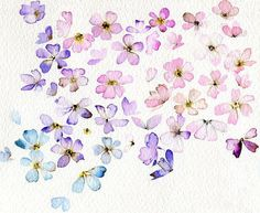 Abstract watercolor flowers along with other easy but cool art projects for the…