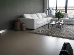 Motion Gietvloer met karpet. Betonlook gietvloeren met een scherpe prijs- / kwaliteitverhouding