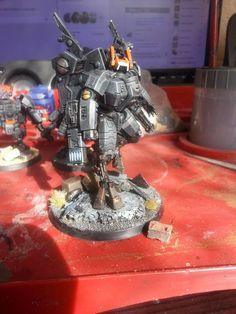 Tau Sa'cea Commander by Steve Barrett of Games Workshop Army Painters Facebook group