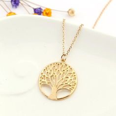 Tree of Life Necklace – EarthStrong