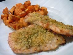 Parmesan Crusted Chicken for Two