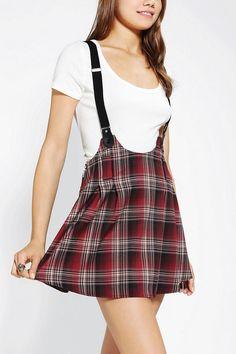 UNIF Dropout Suspender Skirt