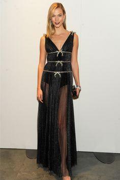 Karlie Kloss Gives the LBD a Red Carpet Makeover