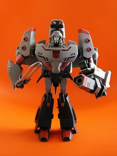 hasbro transformers animated leader class figure: megatron by j_pidgeon, via Flickr