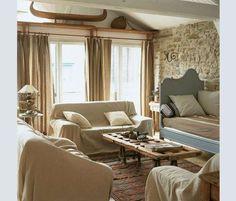 Rinnovare divano fai da te - Teli dal sapore country
