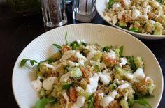 Eat.Run.Love. : Lunchspiration    Quinoa met gerookte zalm en avocado
