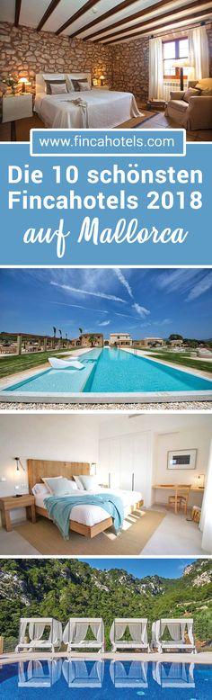 TOP 10 – die schönsten Finca- und Landhotels auf Mallorca für deinen Urlaub in 2018. Mallorcaurlaub abseits der Massen. Wir haben euch die schönsten kleinen Hotels auf der beliebten Insel Mallorca zusammen gestellt. Lest mehr! #landhotel #fincahotel #hotel #top10 #urlaub #mallorca #reise #hotel