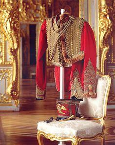 hussar jacket Russian general napoleonic wars c1812