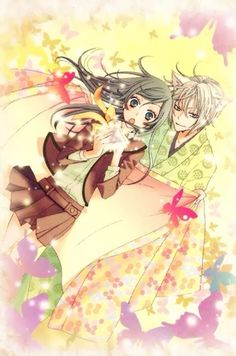Tomoe and Nanami <3 So excited for season 2!