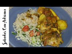 Como Hacer Estofado o Sudado de Pollo - Sabados Con Adriana - YouTube Appetizers, Cooking Recipes, Youtube, Pasta, Beef, Chicken, Wings, Food, Chicken Legs