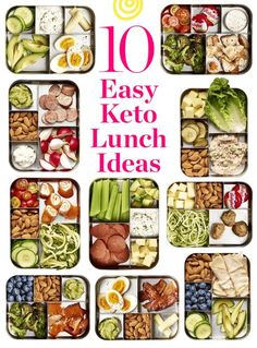 10 Easy Keto Lunch Ideas with Net Carb Counts. Need recipes and ideas for beginn… 10 Easy Keto Lunch Ideas with Net Carb Counts. Need recipes and ideas for beginn…,Ketogen 10 Easy Keto Lunch. Keto Snacks, Healthy Snacks, Healthy Eating, Healthy Soup, Snacks Kids, Eating Vegan, Diabetic Snacks, Stay Healthy, Healthy Fats