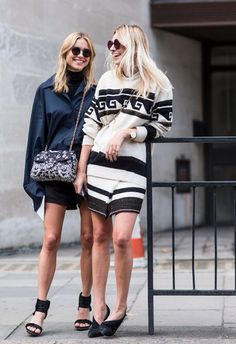 Look de Pernille and Camille Over The Rainbow in Chanel and Isabel Marant
