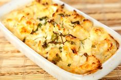 Cauliflower Casserole on Green BEAN Delivery's Healthy Times Blog
