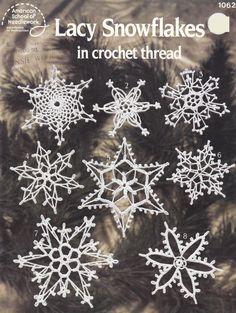 Snowflake Crochet Patterns  16 Lacy Snowflake by PaperButtercup