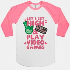 Lets Get High And Play Video Games