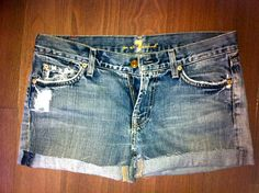DIY- Jean Shorts | The Rooster - Spareparts