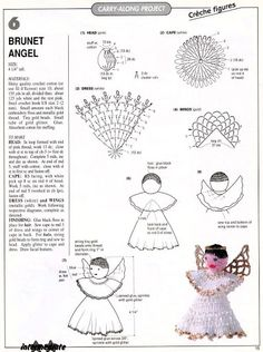 Crocheted Angel