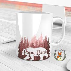 Papa Bear Mug | Father's day Gift | Dad mug | Papa Bear | Fathers day | Gift for Dad | Gifts for Grandpa | Coffee Mug | For papa | CM-141 by FoxyRoxyShop on Etsy