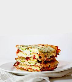 Zucchini Lasagna ( NO NOODLES!!)