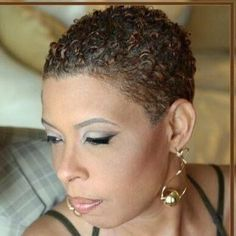 The best collection of Short Natural Curly Hairstyles latest and best short natural curly hairstyles short hairstyles for natural hair. Short Natural Styles, Short Natural Curly Hair, Short Natural Haircuts, Natural Hair Bun Styles, Natural Hair Cuts, Short Black Hairstyles, Hairstyles Haircuts, Short Hair Cuts, Curly Hair Styles