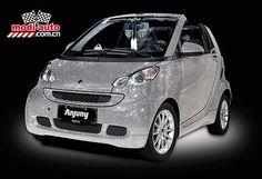 Swarovski Crystals Smart Car