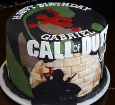 Great Call of Duty Cake